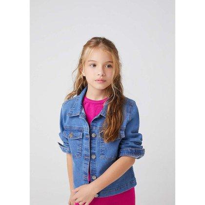 Jaqueta Jeans Infantil Menina - C84N1ASN1