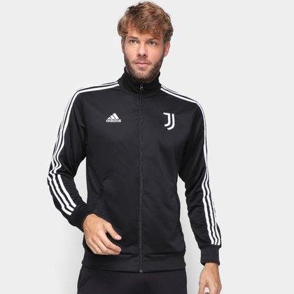 Jaqueta Juventus Adidas 3-Stripes Masculina