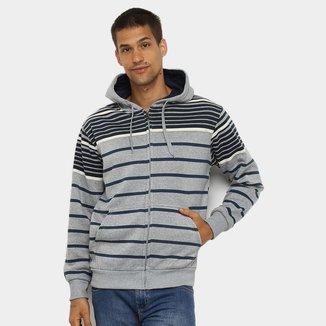 Jaqueta Moletom Athletic Jacket Listrada Masculina
