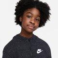Jaqueta Moletom Infantil Nike Sportswear Jersey Capuz Feminino