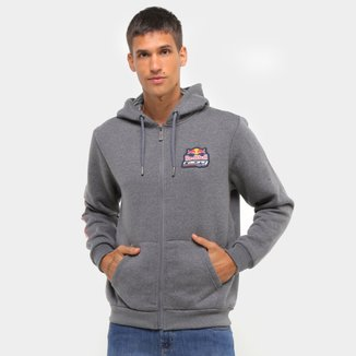 Jaqueta Moletom Red Bull Racing Masculina