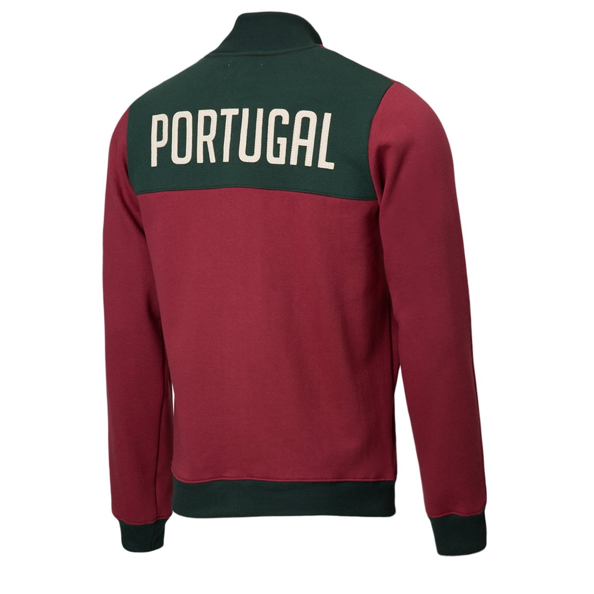 5a9b8c686bbad Jaqueta Moletom Retrô Gol Seleção Portugal Torcedor - Compre Agora ...