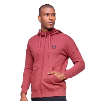 Jaqueta Moletom Under Armour Rival Fleece Masculina