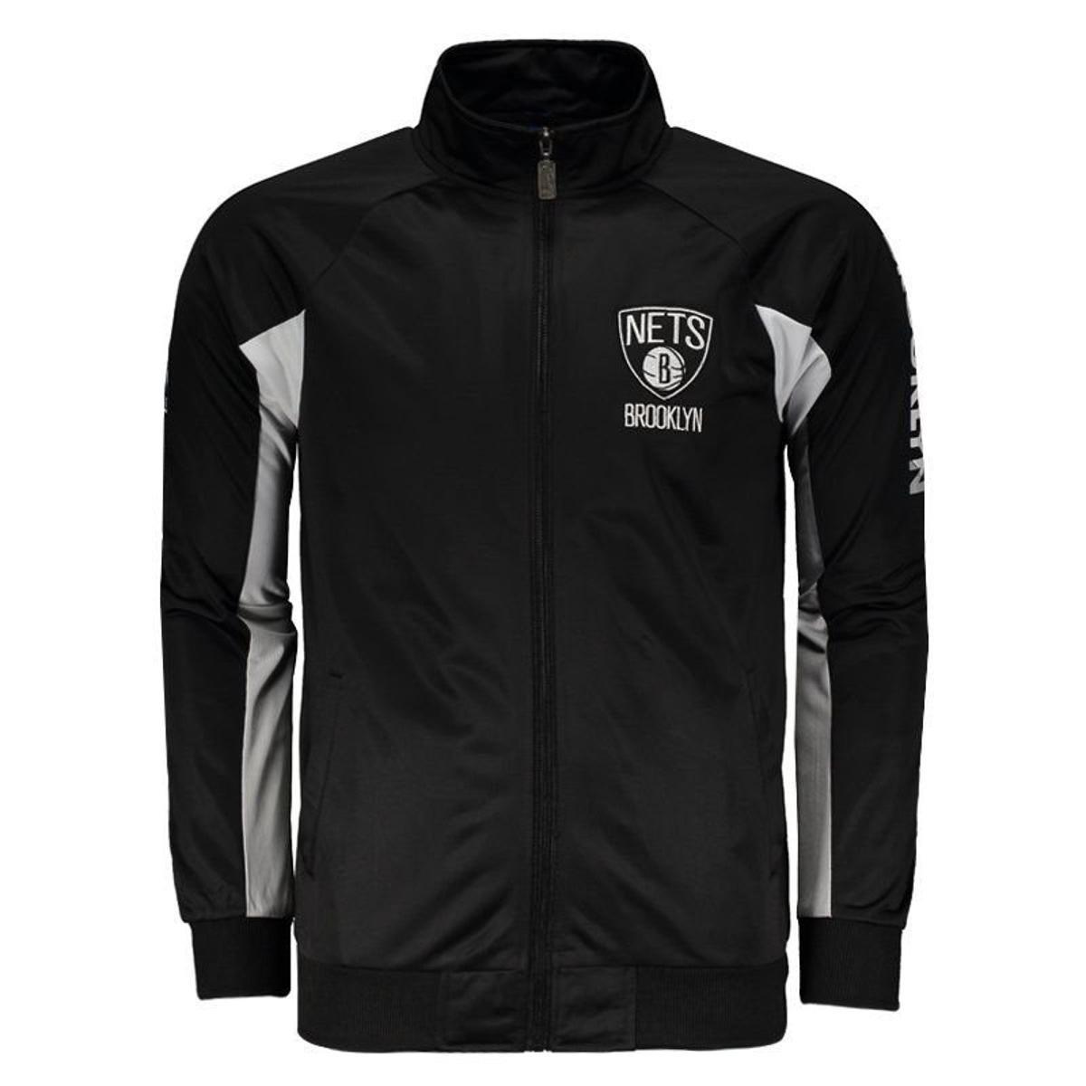 Jaqueta NBA Brooklyn Nets Masculina - Preto - Compre Agora  a3cdbf8b8ff