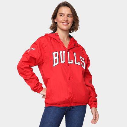 Jaqueta NBA Chicago Bulls New Era College Script Feminina