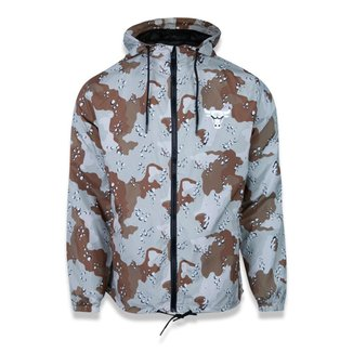Jaqueta New Era Corta Vento (Windbreaker) Desert Camo Chicago Bulls NBA