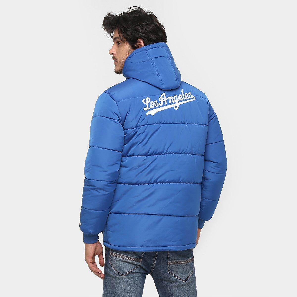 Jaqueta New Era MLB Bomber Perm. Los Angeles Dodgers - Compre Agora ... 81164f29210