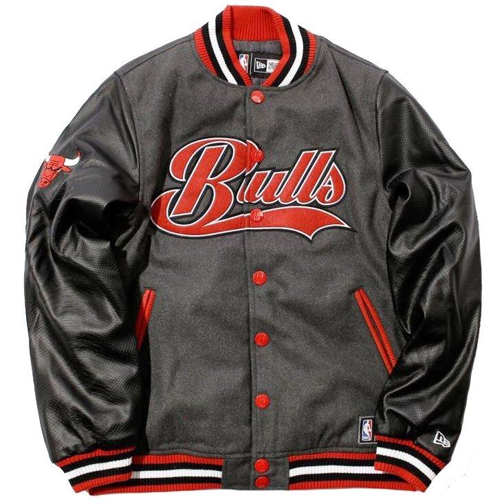 Jaqueta New Era Nba Chicago Bulls Varsity College - Compre Agora ... 510e0a480fe