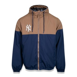 Jaqueta New Era Windbreak New York YANKEES MLB KAKI Masculina