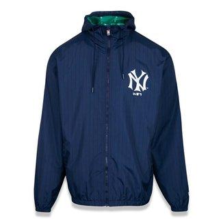 Jaqueta New Era Windbreaker New York Yankees Mlb  Masculina