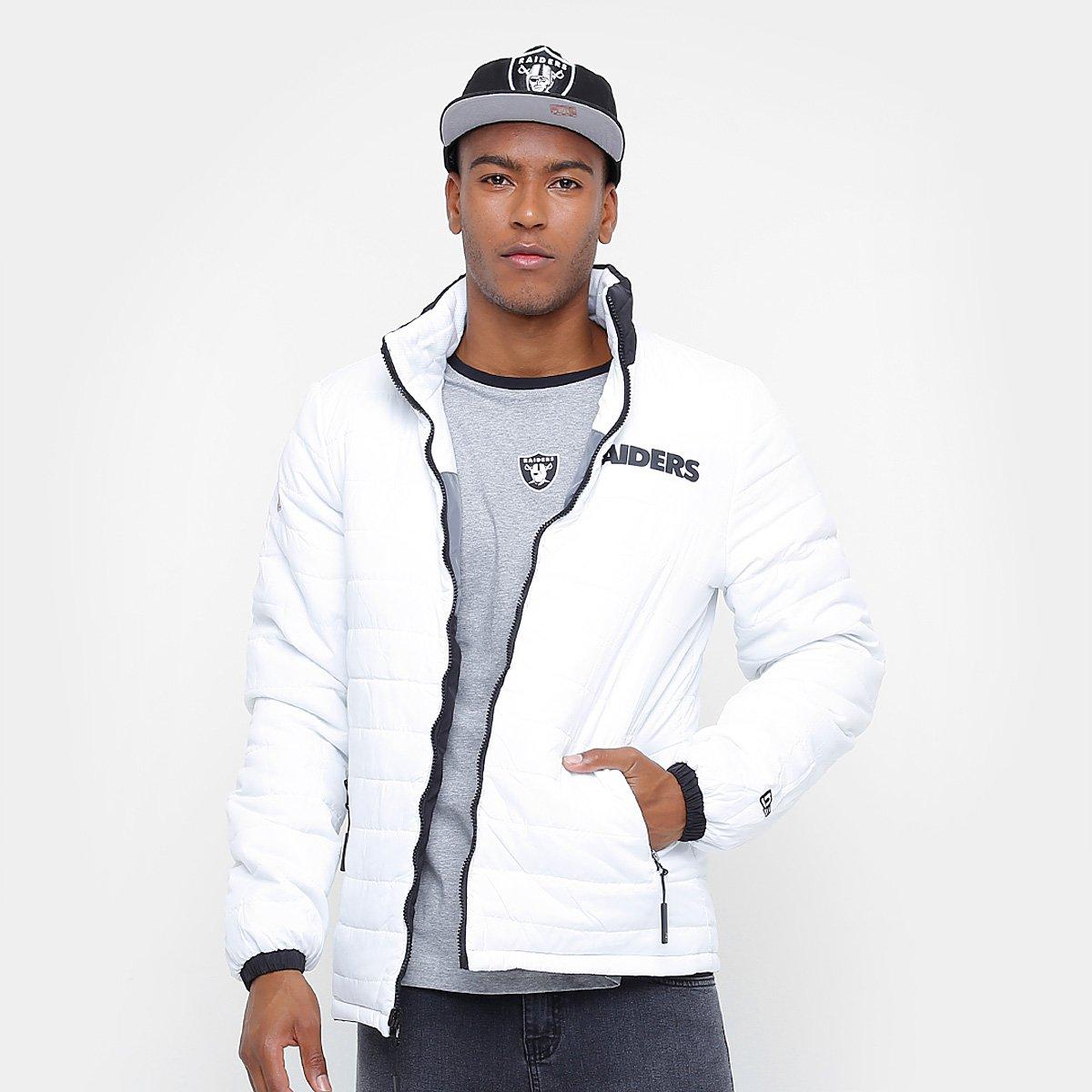 090d6cc1a9 Jaqueta NFL Oakland Raiders New Era Dupla Face Masculina - Compre ...