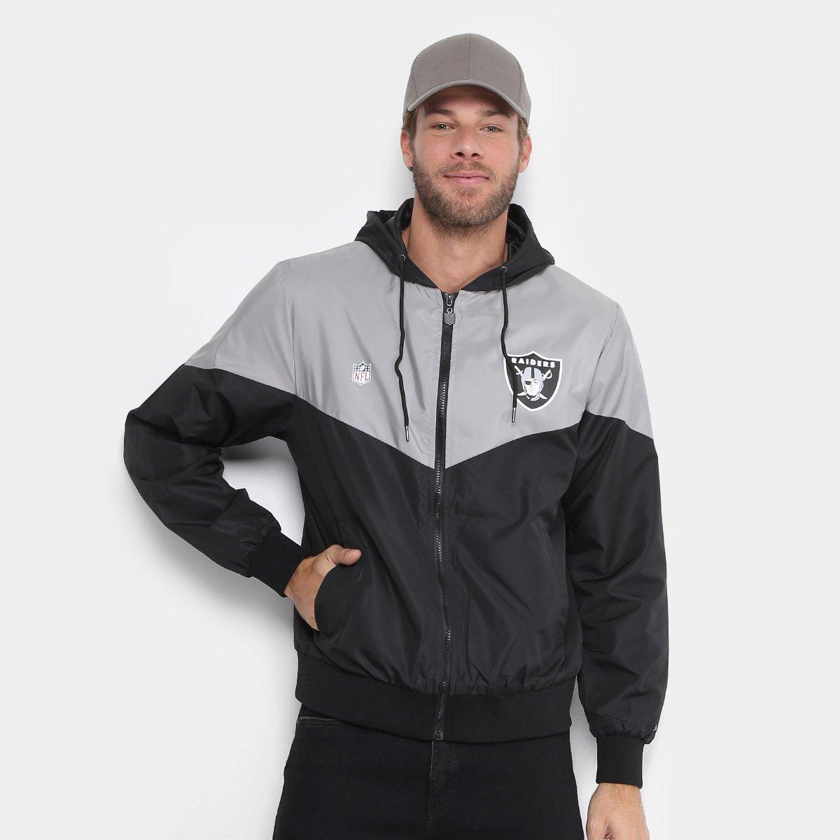 Jaqueta NFL Oakland Raiders New Era Sport Veins Masculina - Compre Agora  35636957272