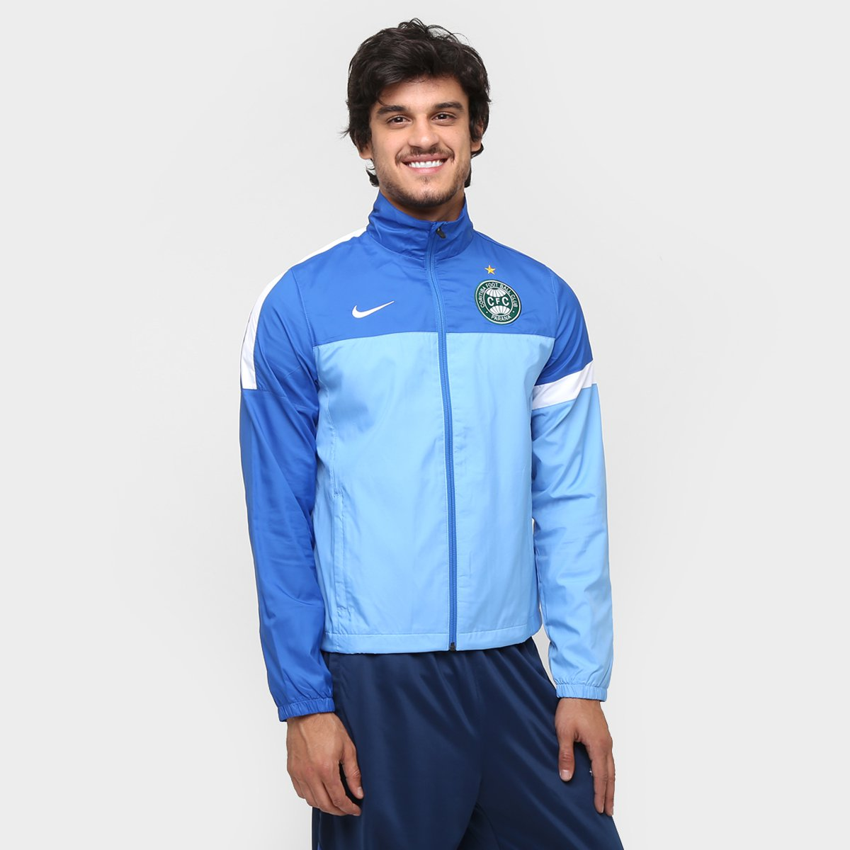 Jaqueta Nike Coritiba Treino 13 14 - Compre Agora  1a923ded0d206