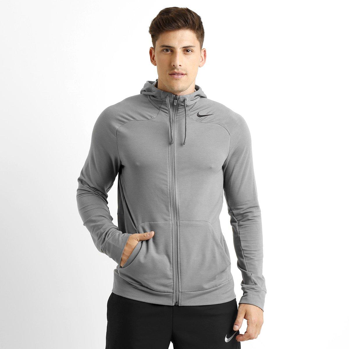f25f3e06cf Jaqueta Nike Dri-Fit Touch Fleece c  capuz - Compre Agora