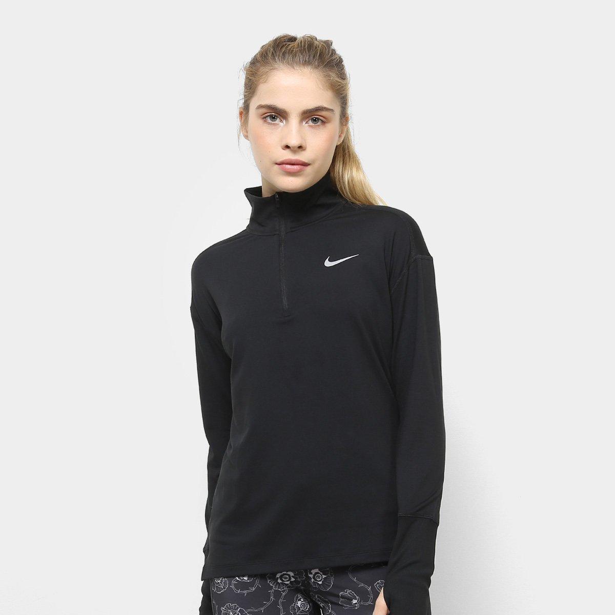 Jaqueta Nike Element Top Hz Feminina Preto