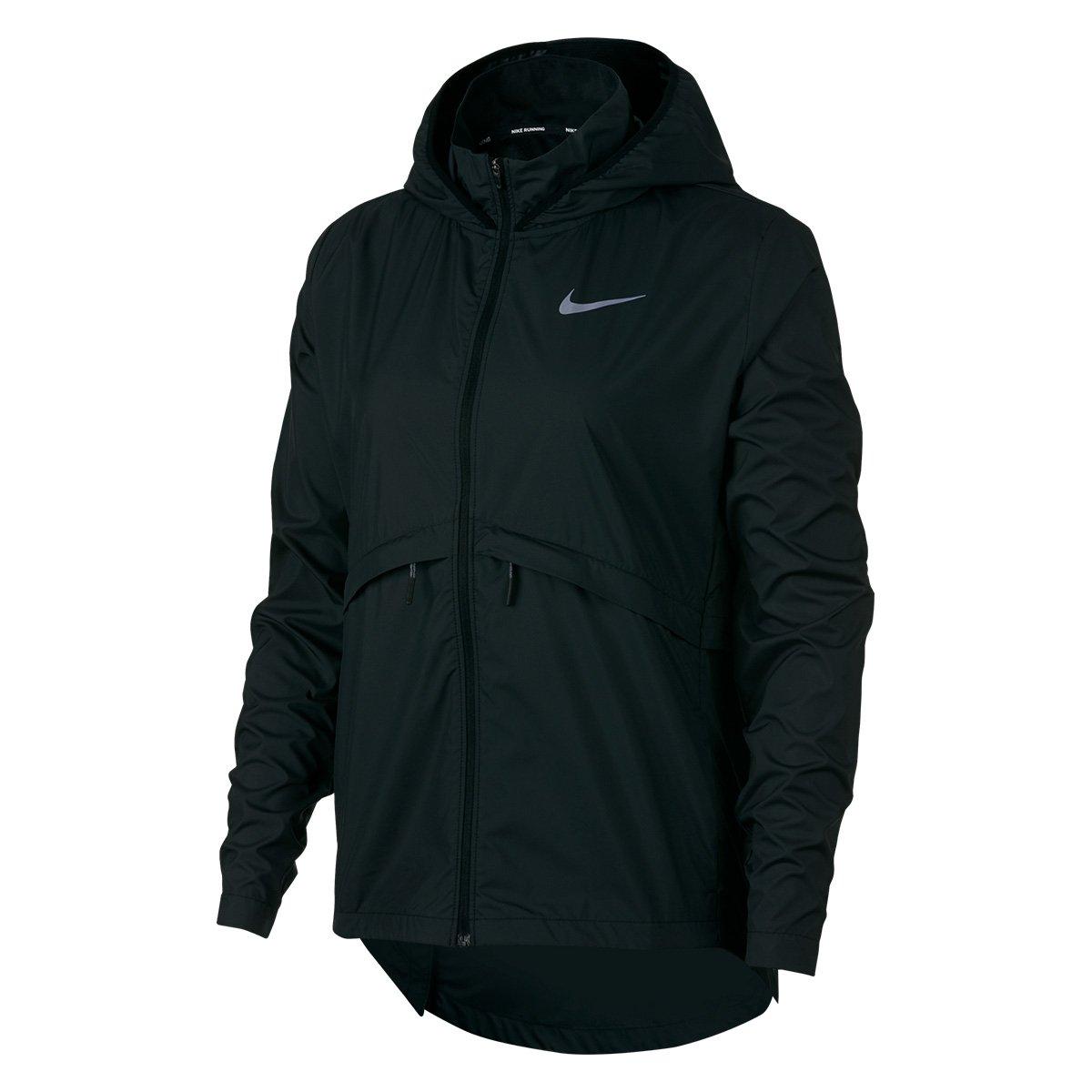 Jaqueta Nike Essential Hd Com Capuz Feminina Preto