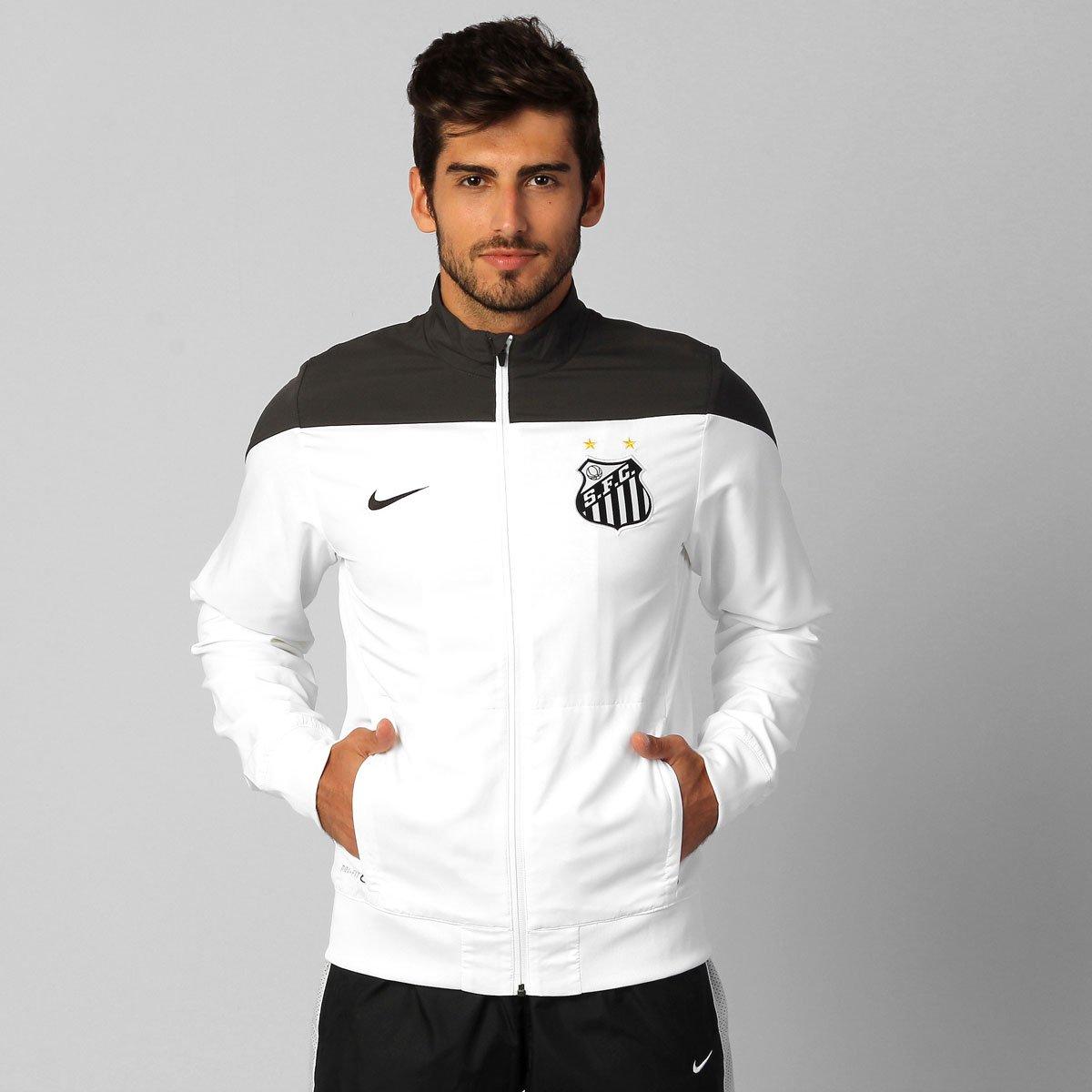 Jaqueta Nike Santos Treino 2014 - Compre Agora  4f2503f437c6b