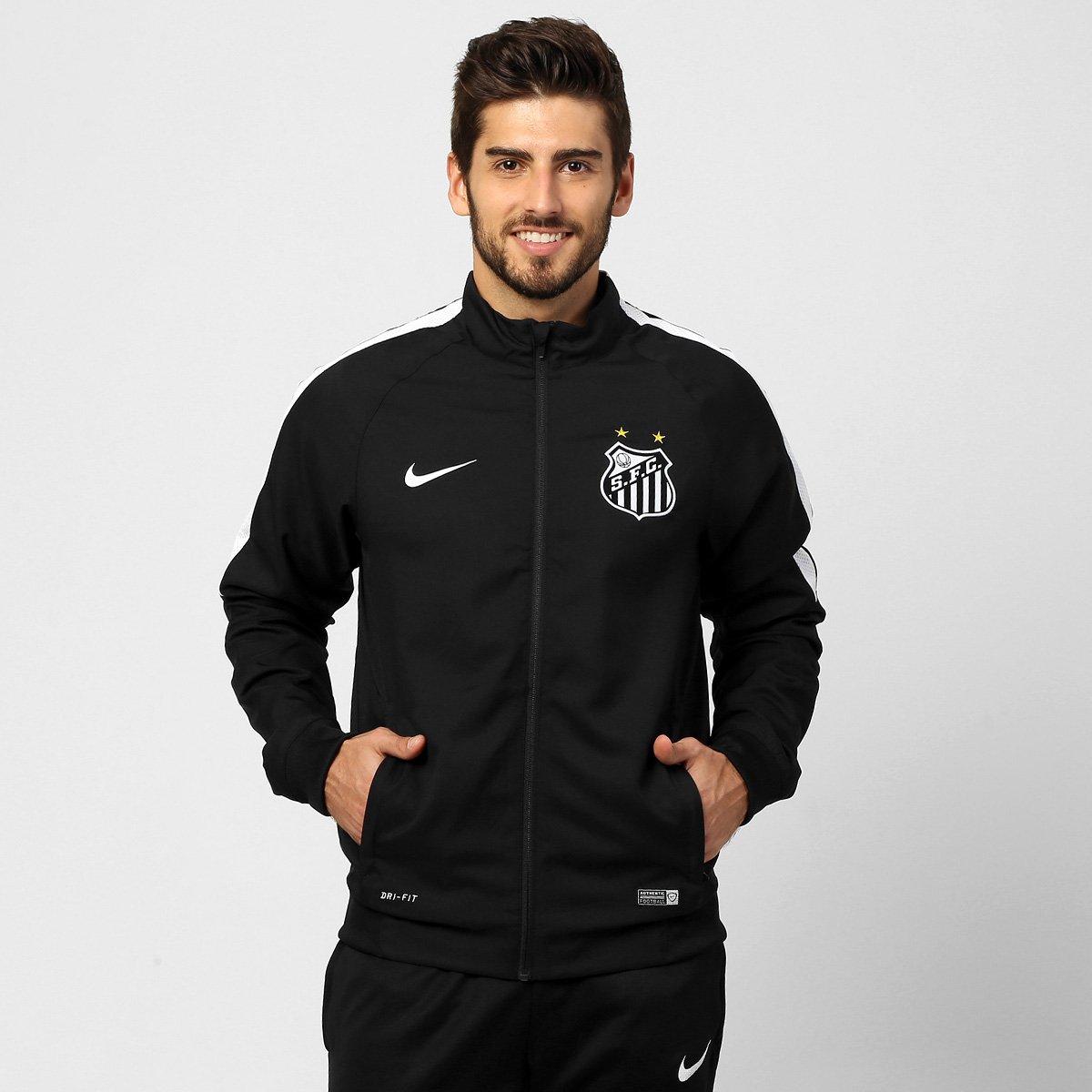 Jaqueta Nike Santos Treino 2015 - Compre Agora  0c4c299fe06bf
