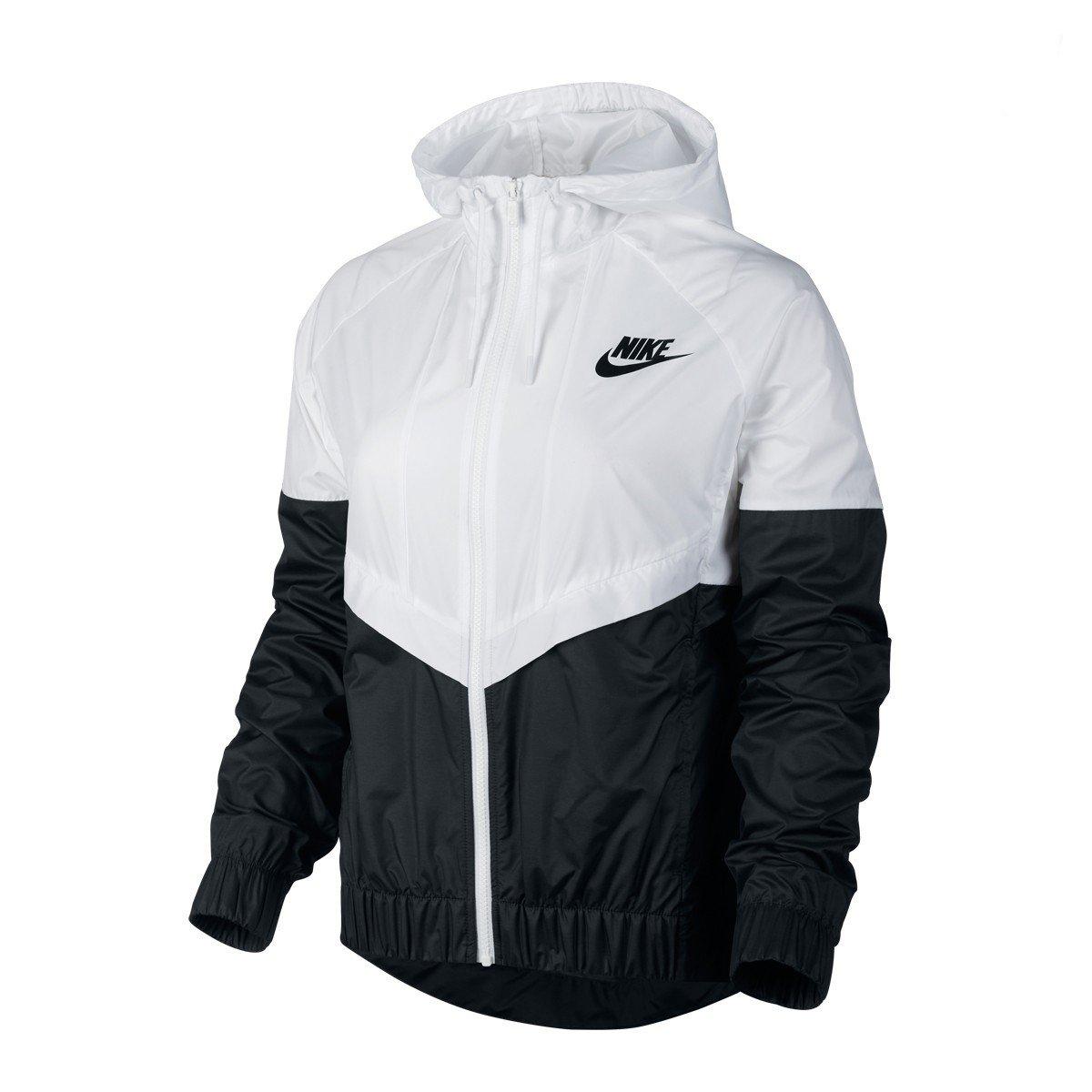 Jaqueta Nike Windrunner Branco E Preto