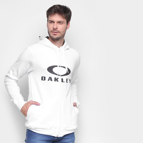 Jaqueta Oakley Bark Masculina - Branco