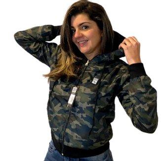 Jaqueta Outros Dupla face Camuflada Feminina