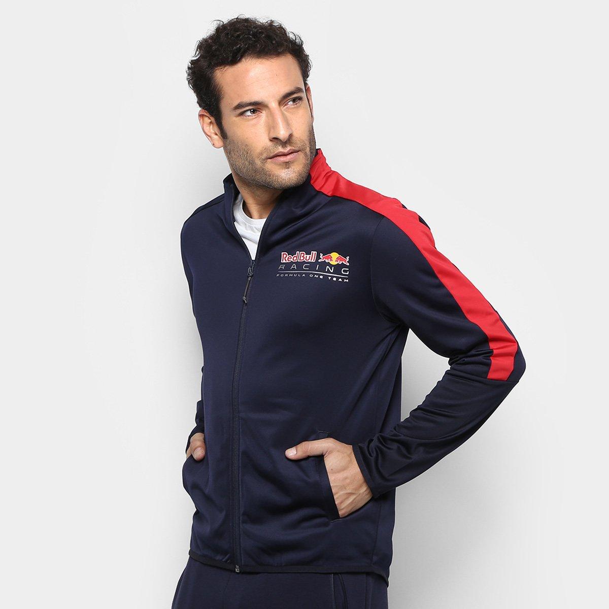 ee55dccc78f45 Jaqueta Puma Red Bull Racing T7 Track Masculina - Compre Agora ...