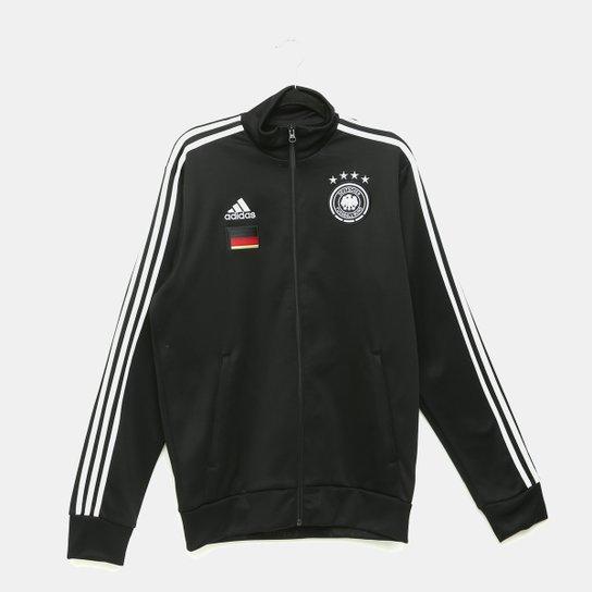 Jaqueta Seleção Alemanha Adidas 3S - Preto