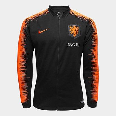 9714d98a6f A Jaqueta Seleção Holanda 2018 Masculina esbanja estilo e simboliza a força  do futebol da Holanda