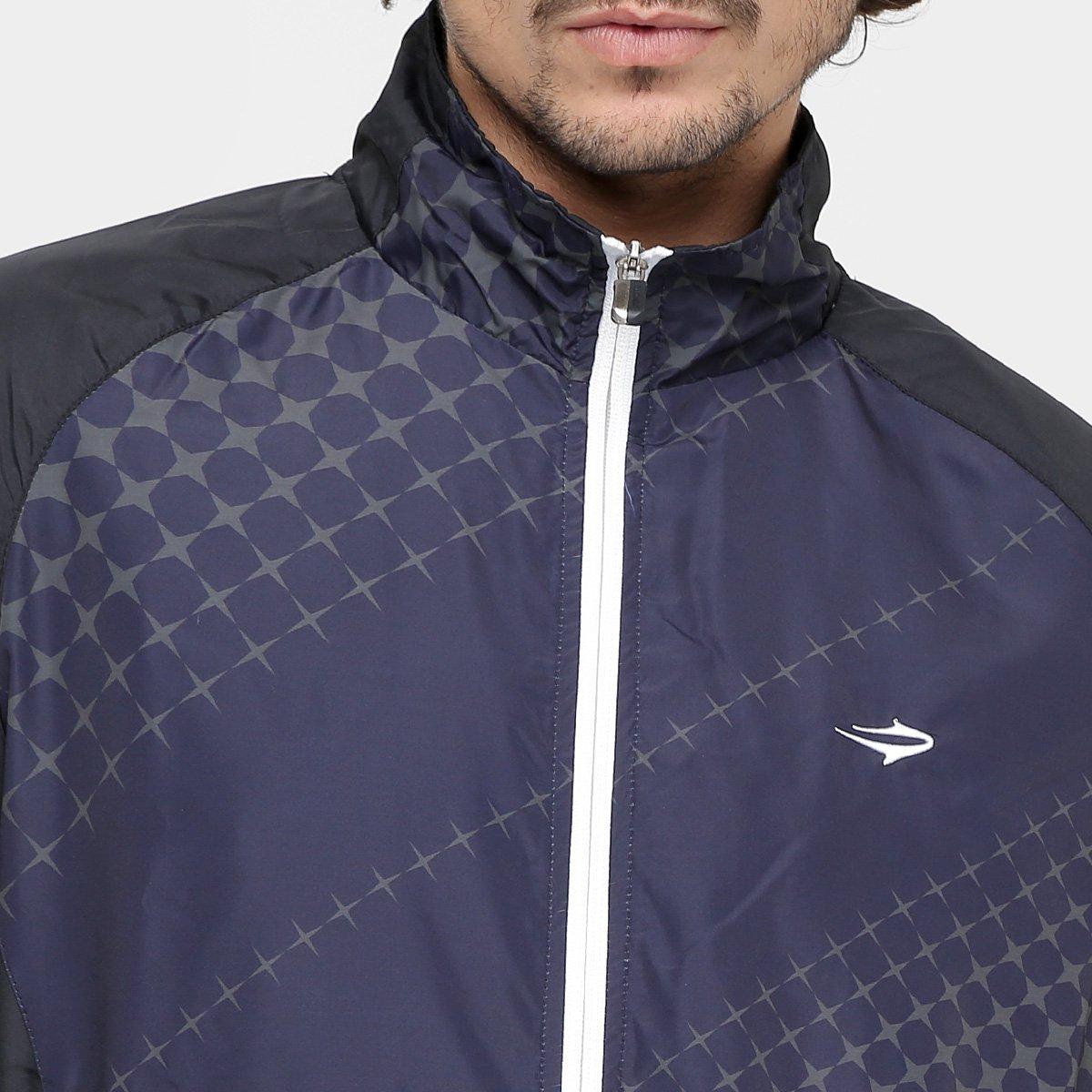 Jaqueta Topper Training Sprint V Masculino - Preto e Chumbo - Compre ... cae6570777545