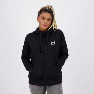 Jaqueta Under Armour Rival Fleece II Feminina Preta