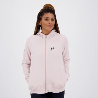 Jaqueta Under Armour Rival Fleece Sportstyle Feminina