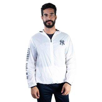 Jaqueta Windbreaker Mlb New York Yankees ed Wave New Era Masculino