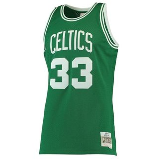 Jersey Hardwood Classics Boston Celtics Larry Bir
