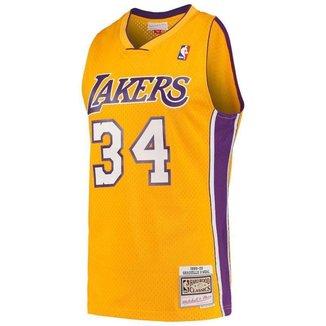 Jersey Hardwood Classics Los Angeles Lakers Shaqu