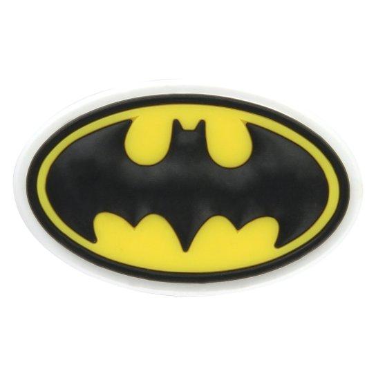 Jibbitz Infantil Crocs Batman - Preto+Amarelo