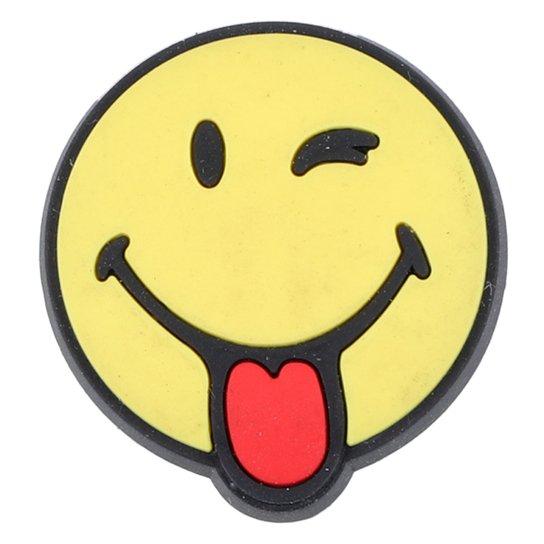 Jibbitz Infantil Crocs Smiley Brand Silly - Incolor