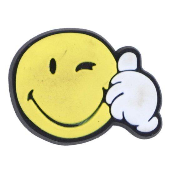 Jibbitz Infantil Crocs Smiley Thumbs Up - Incolor