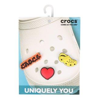 Jibbitz Infantil I Love Crocs 3 Peças