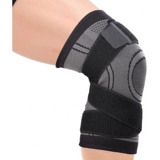 Joelheira De Compressão 3d Com Bandagem Elástica - Veidoorn