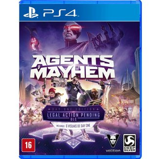 Jogo Agents Of Mayhem PS4