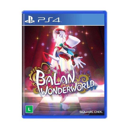 Jogo Balan Wonderworld - PS4 - Colorido