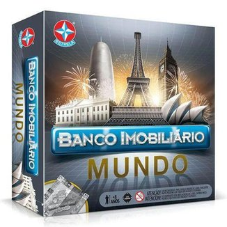 Jogo Banco Imobiliário Mundo Estrela