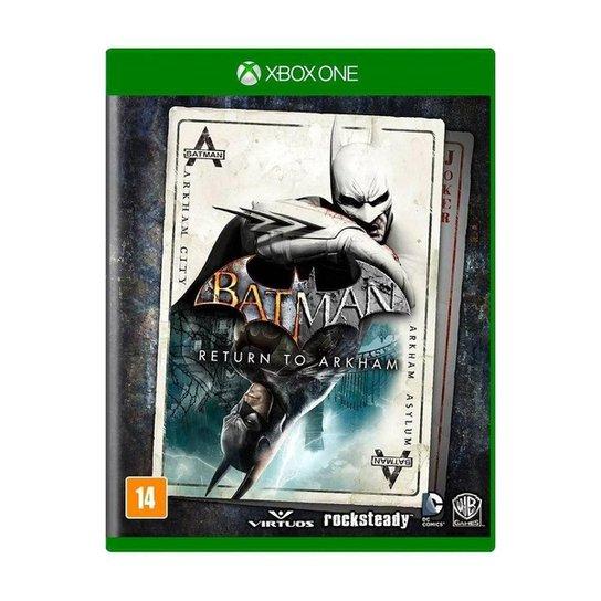 Jogo Batman: Return to Arkham - Xbox One - Incolor