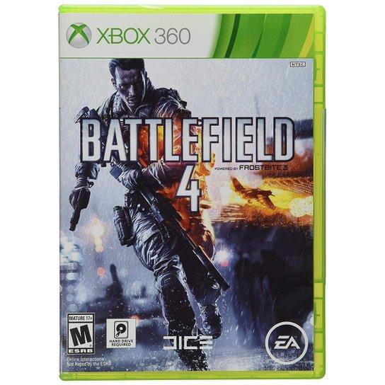 Jogo Battlefield 4 para Xbox 360 - Incolor
