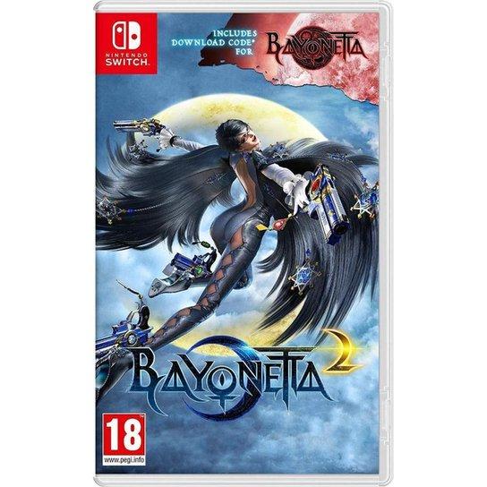 Jogo Bayonetta 2 + Bayonetta 1  Switch - Incolor