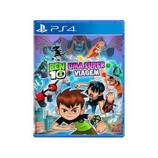 Jogo Ben 10 Uma Super Viagem para PS4