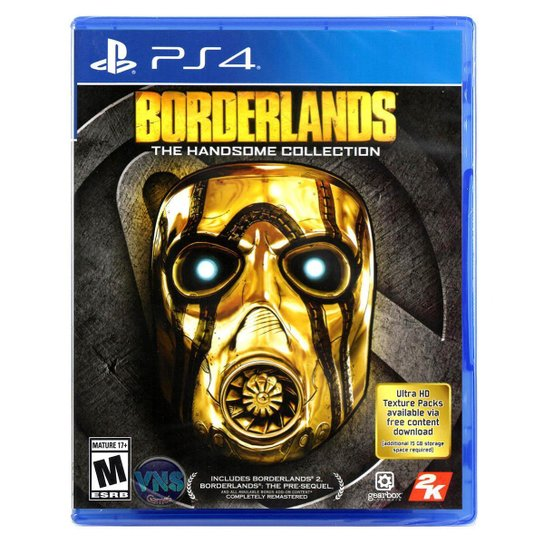 Jogo Borderlands The Handsome Collection  Ps4 - Incolor