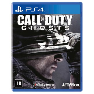 Jogo Call Of Duty Ghosts PS4