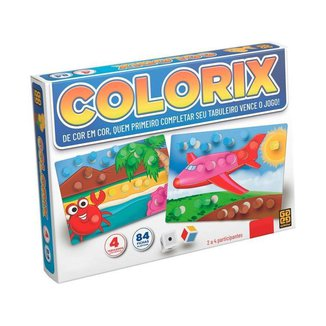 Jogo Colorix Tabuleiro Grow
