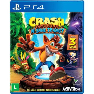 Jogo Crash Bandicoot N'sane Trilogy PS4